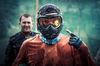 Paintballing 6