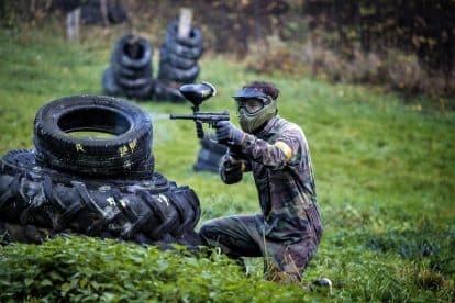 Paintballing 8