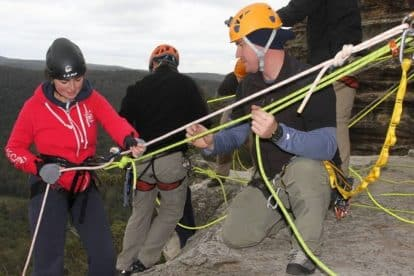 Abseiling 01