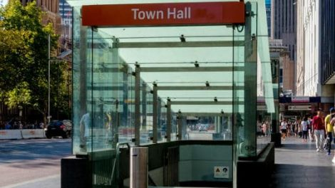 town hall station