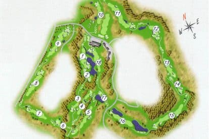 NSW Open Golf Championship Course
