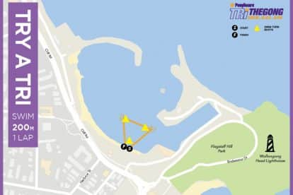 Wollongong Try-a-try Swim Map