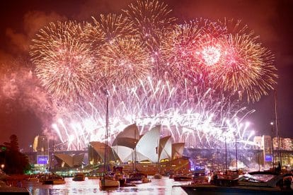 Sydney New Years Eve 08