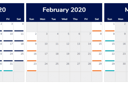 Opening Times January - March 2020