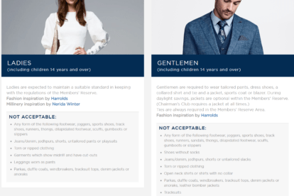 Dress Code and Style Guide