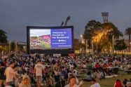 Outdoor Cinema At Sydney Olympic Park
